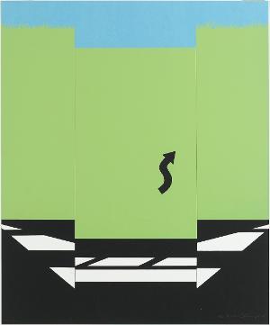 Landschaft I (Blatt 4 in: 11 Pop Artists I), 1965