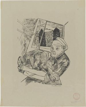 Lili von Braunbehrens, Stadtnacht, Blatt 4: Vorstadtmorgen, 1921