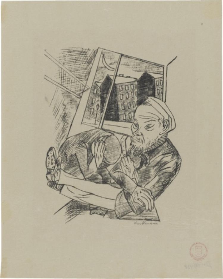 Lili von Braunbehrens, Stadtnacht, Blatt 4: Vorstadtmorgen