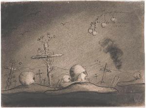 Die Toten reiten schnell (aus: Captivity), 1940
