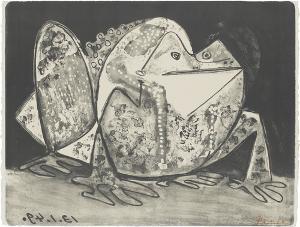 Le crapaud (Die Kröte) , 13.1.1949