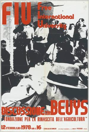 Discussione con Beuys. FIU Free International University , 1978
