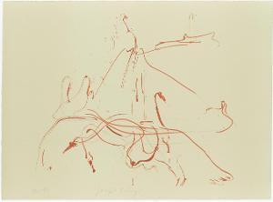 Hommage à Picasso (in: Hommage à Picasso, Serie 3, Blatt 2), 1973