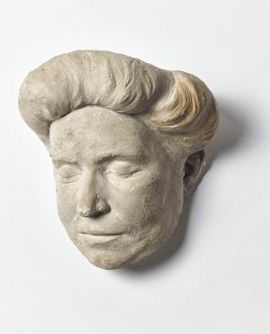 Totenmaske der Sängerin Anna Sutter, nicht datiert