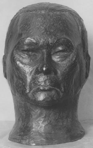 Bildnis Paul Wegener (als Golem), 1930