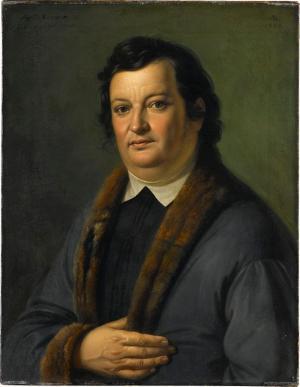 Bildnis Justinus Andreas Christian Kerner, 1844