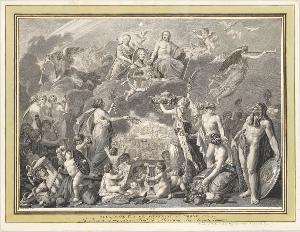 Alexandre Ier a son Avénement au Trône., 1805
