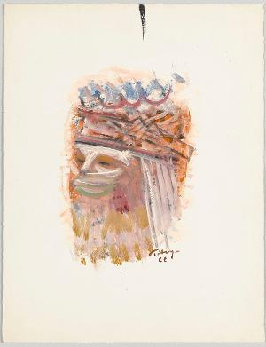 Verschleierter Kopf, 1966