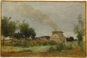 Le Four à Briques (Der Ziegelofen), um 1840-1845