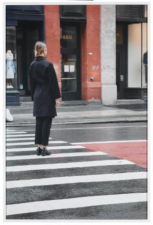 Exposure #152: N.Y.C., Broadway & Broome Street, 04.18.20, 10:46 a.m., 2020, 2020