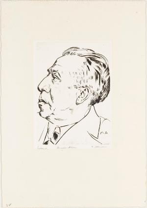 Bildnis Heinrich Altherr, 1929