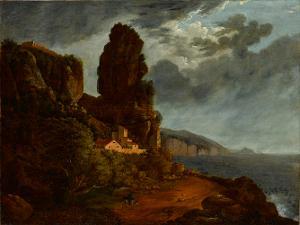 Italienische  Küstenlandschaft, nicht datiert