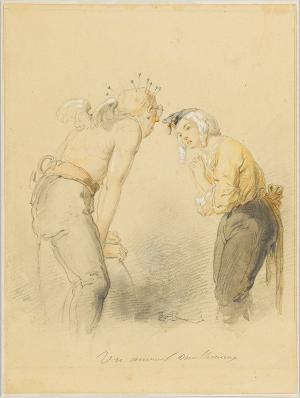 Un amour malheureux, um 1860/70