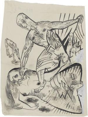 Mörder, Hoffnung der Frauen III, 1908