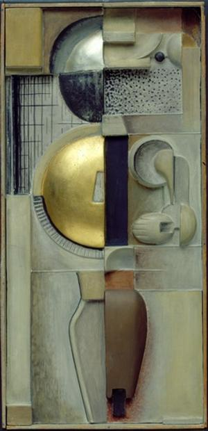 Relief JG in Bronzen, 1919